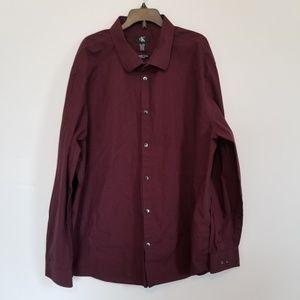 Calvin Klein Men's Infinite Cool Dress Shirt